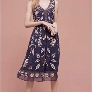 Beautiful embroidery dress from Anthropologie